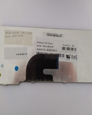 Teclado negro para Acer Aspire One